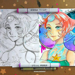 +Pearl Before and After+ by larienne