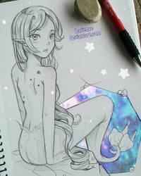 +Starry Sea+ by larienne