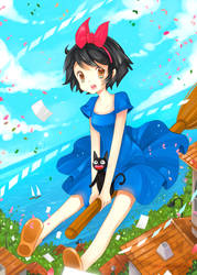 +Kiki+ by larienne