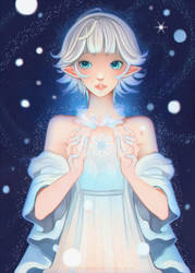 +First Snow+ by larienne