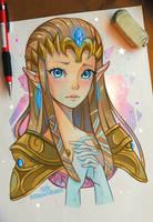 Princess Zelda by larienne