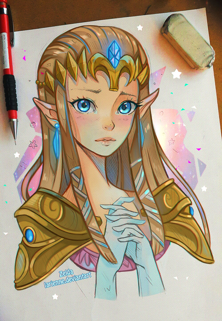 Princess Zelda by larienne