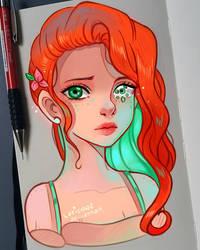 +Broken Soul - Green+ by larienne