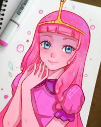 Adventure Time - Bubblegum by larienne