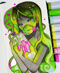 Toxic Love by larienne