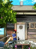 Kiki Delivery Service - Break by larienne