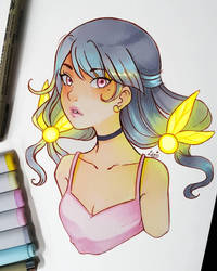 Fairy Lights by larienne