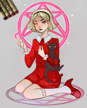 Chilling Adventures of Sabrina by larienne