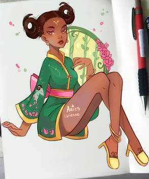 Aries by larienne