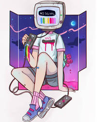 No Signal by larienne