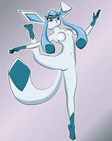 Glaceon by TheLuckyNote827