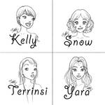 Character Designs by YummingDoe4