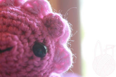 Pink Lion Amigurumi ~ for sale on Etsy by theyarnbunny