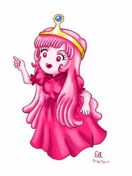 Chibi Princess Bubblegum by ArtsyVana