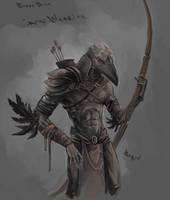 Crow Warrior by berov