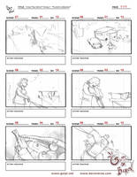Green Code Team storyboard pg.5 by berov