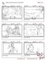 Green Code Team storyboard pg.7 by berov