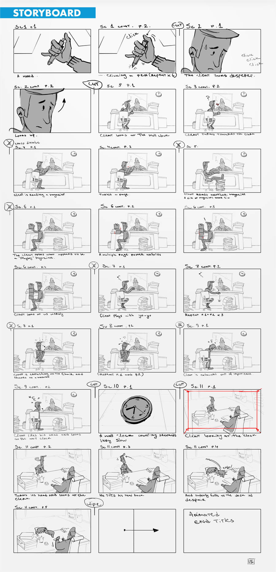 24ins Animation : Storyboard by berov
