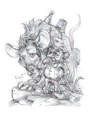 Gnome Rider by berov