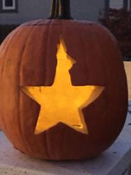 Hamilton Pumpkin by OwTheEdgy