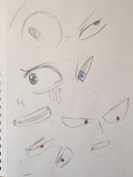 BNHA Eye Pratctice by OwTheEdgy