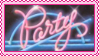 party stamp by bunsona