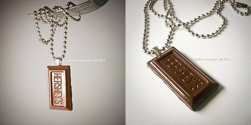 Hershey's Necklace by CreativeAbubot