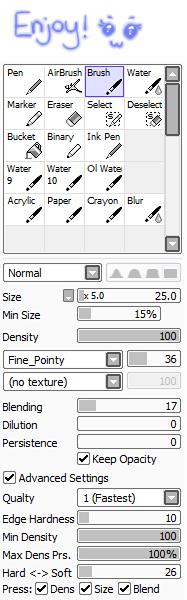 Glow Brush Configuration for SAI by korymisun