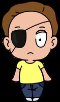 Eyepatch Evil Morty by korymisun