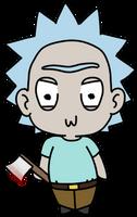 Tiny Rick! by korymisun