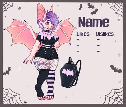 Halloween Bat Girl OTA {OPEN} by bluet0ast