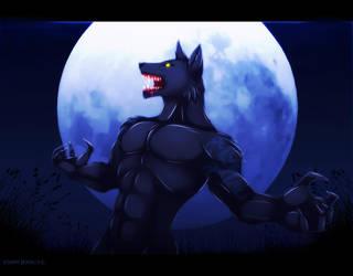 Wolfman by MatyMatyPup