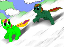 Verdant and Emerald Playing by Tassadoul
