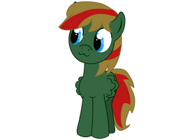 OC pony Verdant. Look at that. by Tassadoul