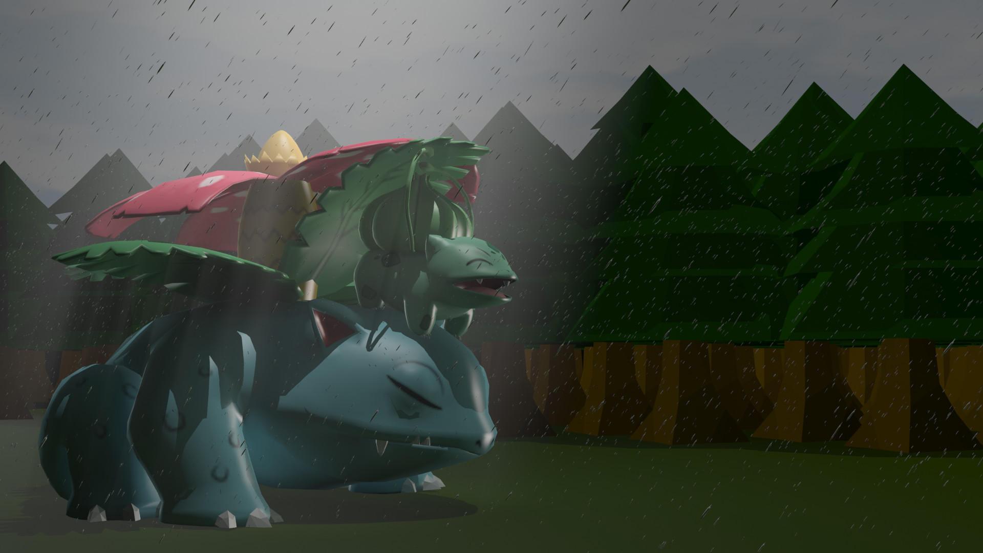 Rainy days by Tassadoul