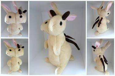 Custom 2-headed Bunny by IckyDog