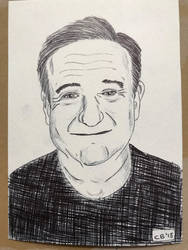 Robin Williams  by IckyDog