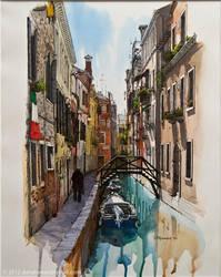The Venice walk by Danataman
