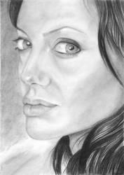 Angelina Joli by kalabatik