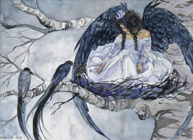 Queen of Crows by amethystpurple1805