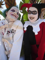 Harley Quinn and the Joker by miss-kitty-j