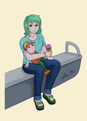 Maman Et Fils Metro by Shamallow