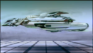 Army Transport Ship Concept by AdrianDIS