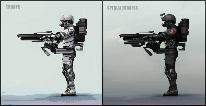 Troops Concept by AdrianDIS