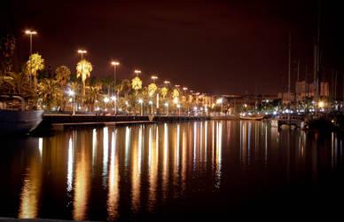 Barcelona's nights by LitalPerri