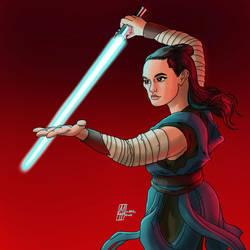 Rey The Last Jedi by MichaelHoweArts