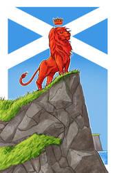 Scotland The Brave by MichaelHoweArts