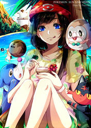 F: Pokemon Sun and Moon by Fuumeh