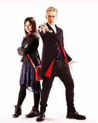 The 12th Doctor and Clara by EquineProductns