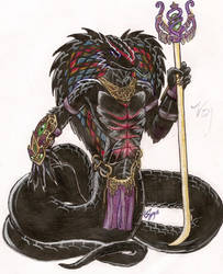 Archmage King Cobra by SilverScion